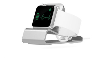 Dock Station Aluminio Base Carregadora De Mesa Apple Watch