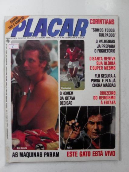 Revista Placar 331 Sem Contracapa Inter Santa Cruz Baurú1976
