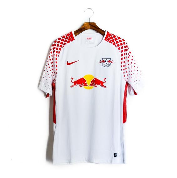 Camisa De Futebol Masculino Rb Leipzig 2017/18 Nike 854359