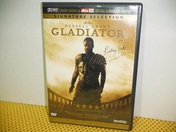 El Gladiador - Edicion Firma Del Director - Dvd Importada