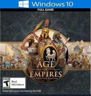 Age Of Empires Definitive Edition Juego Pc Envio Gratis