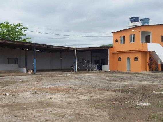 Galpão Para Alugar, 2160 M² Por R$ 10.000,00/mês - Aroeiras - Macaé/rj - Ga0055