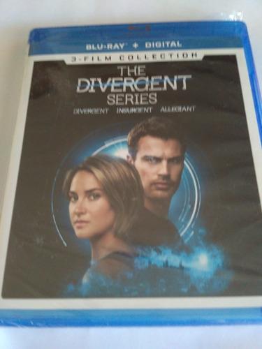 The Divergent Series 3-film Collection Blu-ray Nuevo Sellado