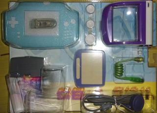 Kit De 7 Accesorios Luz Para Game Boy Advance - Nuevos