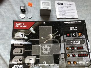 Star Wars Box Busters Battle Of Yavin Como Nuevo!!!