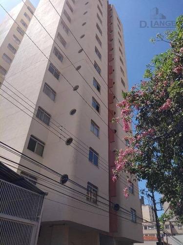 Kitnet Com 1 Dormitório À Venda, 40 M² Por R$ 120.000 - Botafogo - Campinas/sp - Kn0582