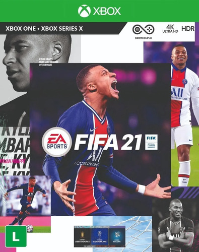 Fifa 21 Xbox One Mídia Física Português Novo Lacrado