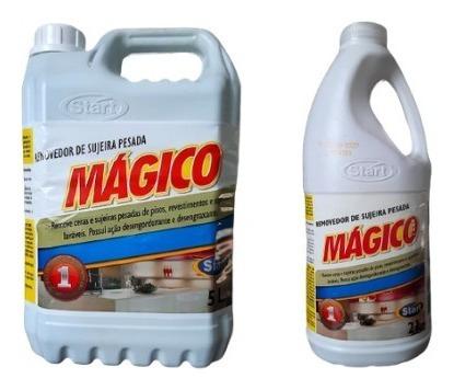Kit Magico Removedor De Cera 5l + 2l Start Removedor