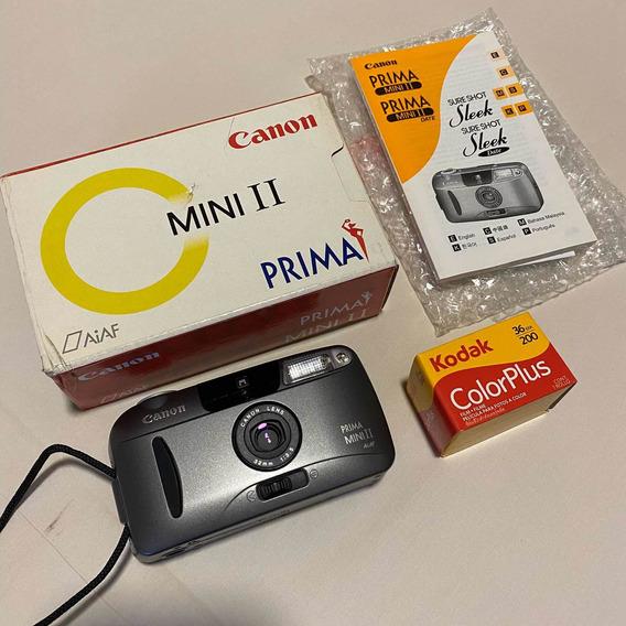 Canon Prima Mini Ii - 32mm 3.5 - Melhor Que Mju