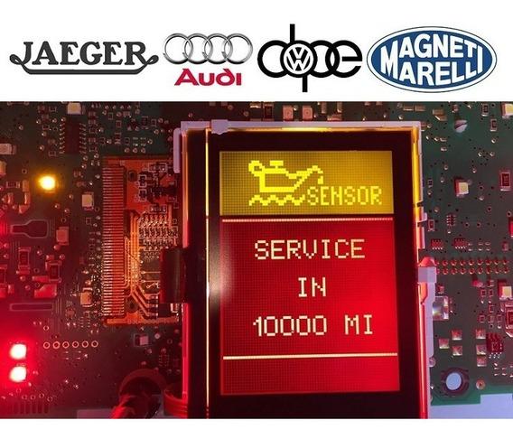 Display Lcd Computador De Bordo Audi A3 A4 A6 Magnet Marelli