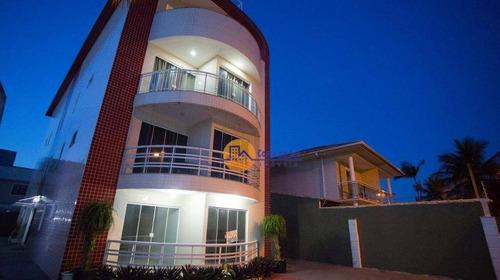 Apartamento Com 3 Dormitórios À Venda, 110 M² Por R$ 480.000,00 - Praia Mar - Rio Das Ostras/rj - Ap0154