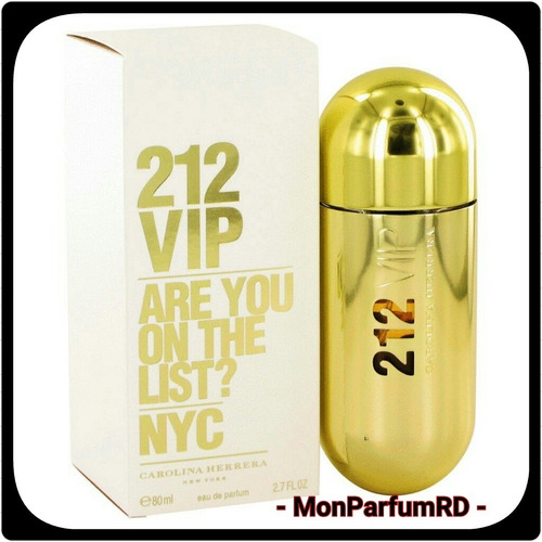 ** Perfume 212 Vip Damas By Carolina Herrera. Inmediato ***