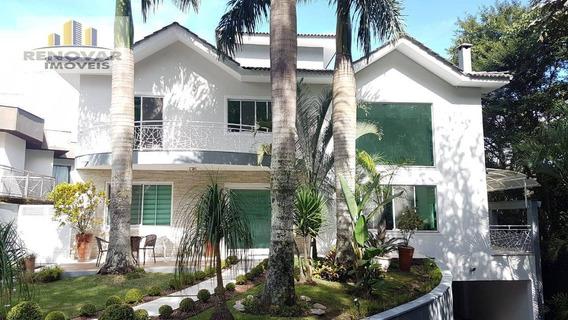 Sobrado Com 4 Dormitórios À Venda, 407 M² Por R$ 2.200.000 - Parque Residencial Itapeti - Mogi Das Cruzes/sp - So0349