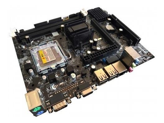 Kit Gamer Placa Mãe 775 Ddr3 Chipset Intel G41 + Processador Core 2 Duo E8400 3.0 Ghz + Cooler + Memória Ram 8gb Ddr3