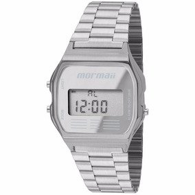 Relógio Mormaii Unissex Digital Prata - Mojh02aa/3c