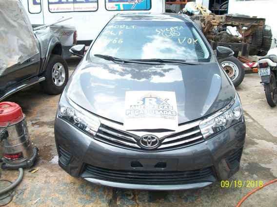 Sucata Toyota Corolla Gli 1.8 Flex 16v Aut 2016 Peças
