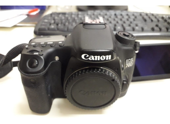 Camera Fotográfica Canon Eos 70d