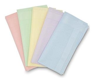 Gb Womens 100% Cotton Pañuelos Con Rayas De Color Caramelo