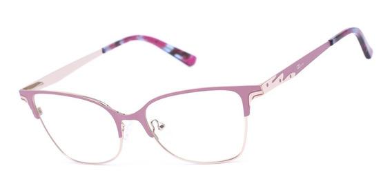 Armação Oculos Ogrife Og 994-c Feminino Com Lente Sem Grau