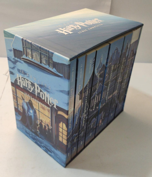 Box Harry Potter - 7 Livros - Serie Completa