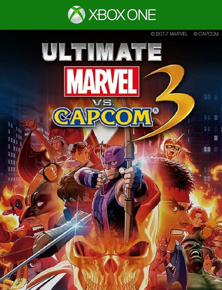 Ultimate Marvel Vs. Capcom 3 Xbox One - 25 Dígitos (envio Flash)