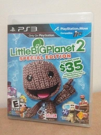 Jogo Little Big Planet 2 Special Edition Mídia Física Ps3