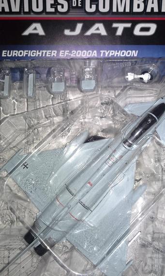 Miniatura Jato De Combate Eurofigter Ef-2000 Typhoon