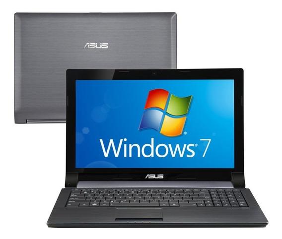Notebook Asus N53t Quad Core 4gb 500gb Radeon 2gb 15,6 Led