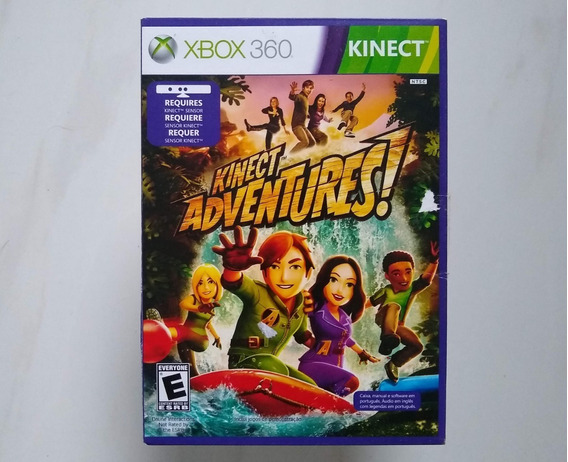 Jogo De Kinect Xbox 360 Original Seminovo
