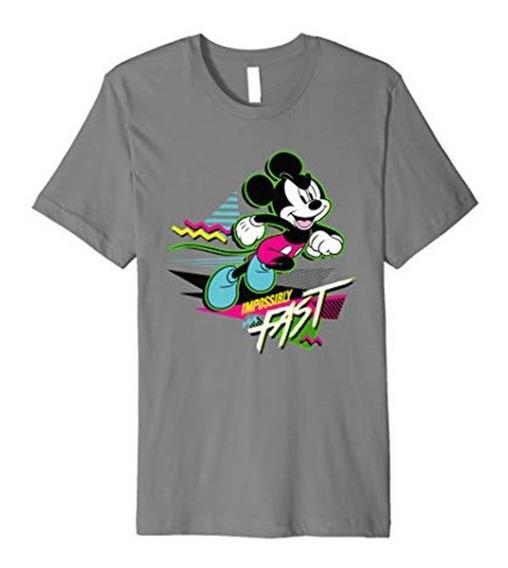 Camiseta O Playera Mickey Mouse Flash Corriendo