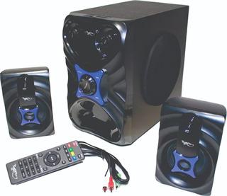 Teatro En Casa Bluetooth Con Woofer 26w Radio Fm Usb Sd + Ob