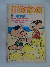 Mônica Nº 43! Ed. Abril Nov 1973! Leia O Anúncio!