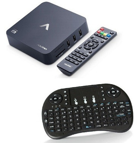 Smart Tv Box Stv-2000 Android 7.1 4k Wifi + Teclado Led