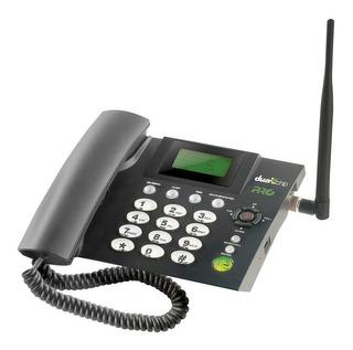 Telefone Celular Fixo Quadband 2chips Proeletronic Procd6010