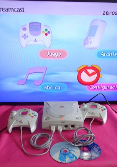 Dreamcast Tec Toy - Branquinho - Ler Anúncio