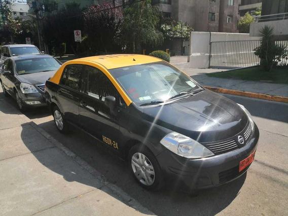 Taxi Básico Nissan Tiida 2017 90.000 Kms Con Derechos
