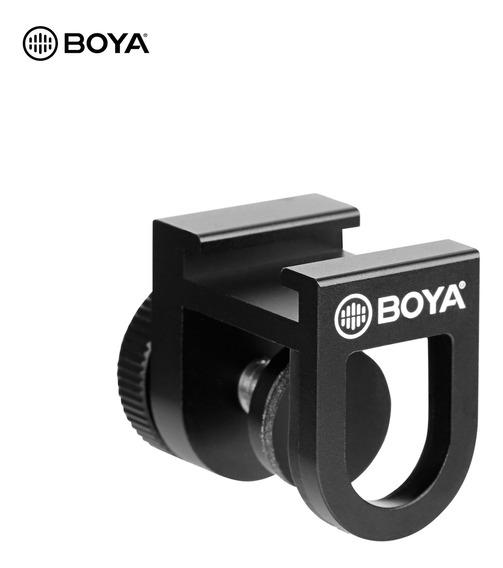 Suporte De Sapato Frio Universal Para Smartphone Boya By-c12