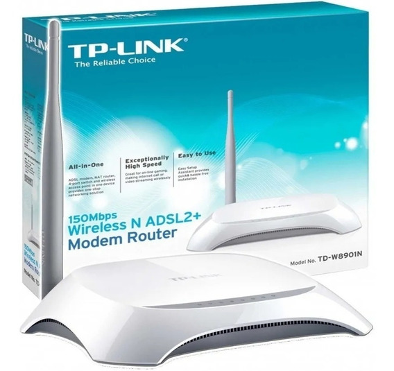 Modem Router Tp-link Td-w8901n