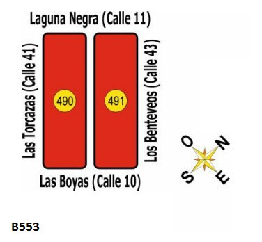 B553 Solares En Uruguay - La Esmeralda - Dpto De Rocha