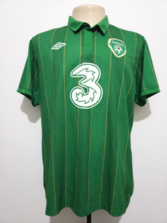 Camisa Futebol Oficial Seleção Irlanda 2011 Home Umbro G/gg