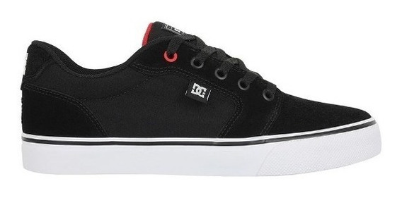 Tênis Dc Shoes Anvil Tl19 Black Red