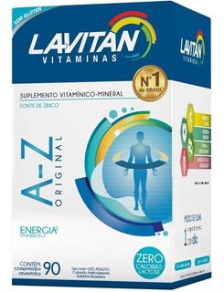 Lavitan Mais A-z Com 90 Comprimidos Val 02/21