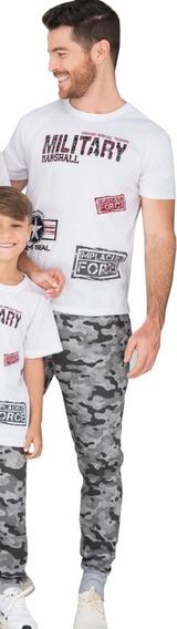 Conjunto Deportivo Hombre Jogger Estampado Y Camiseta