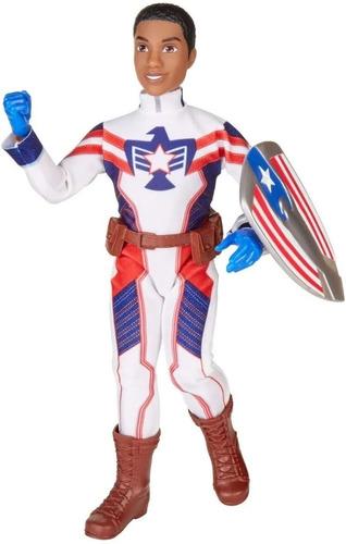 Imagem 1 de 3 de Boneca Luxo Marvel Rising Guerreiros Secretos Marvel Patriot