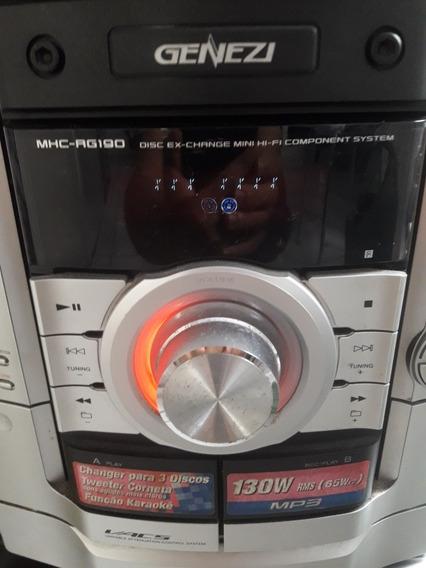 Sony Genezi Mhc Rg190 Systen.leia Com Atençâo