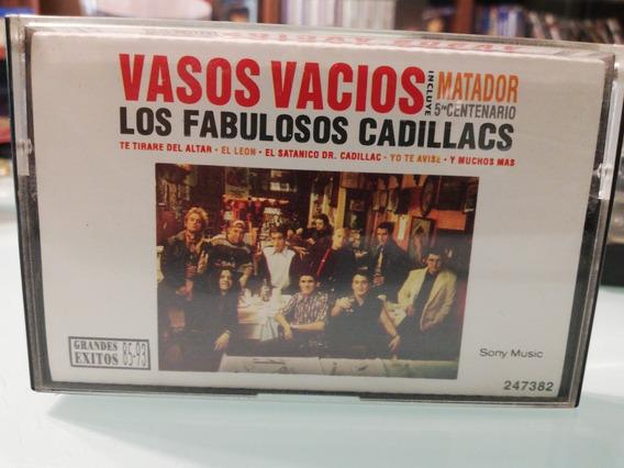 Casette Fabulosos Cadillacs, Vasos Vacios