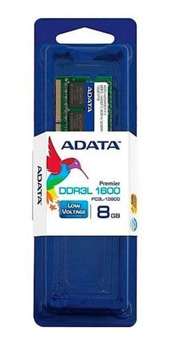 Imagen 1 de 2 de Memoria RAM Premier Series color Verde  8GB 1 Adata ADDS1600W8G11-S