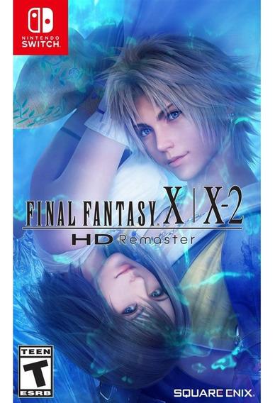 Final Fantasy Xx 2 Hd Remaster Switch Mídia Física Novo