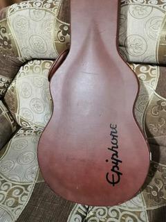 Estuche Gibson EpiPhone Para Les Paul Edición Limitada