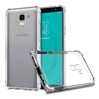 Capinha Crystal Silicone P/ Samsung Galaxy J6 2018 Tela 5.6